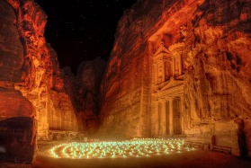 Petra_by_Night,_Jordan